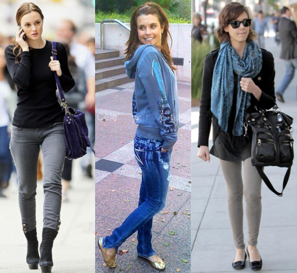 pics for gt leighton meester casual style